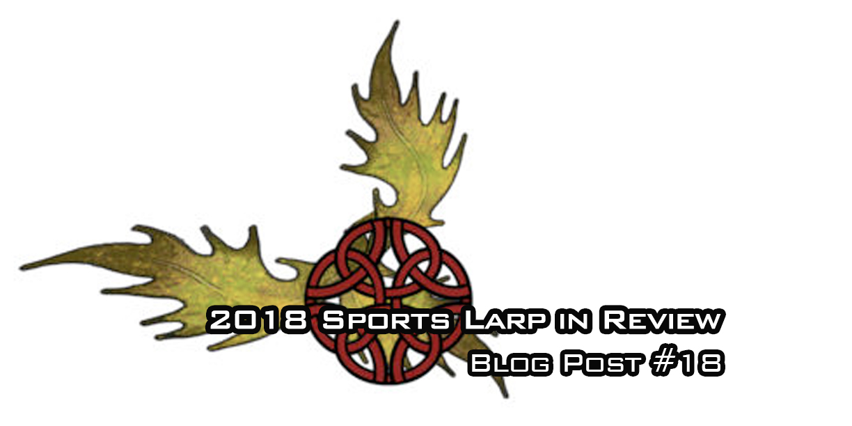 Sport LARP 2018 in Review