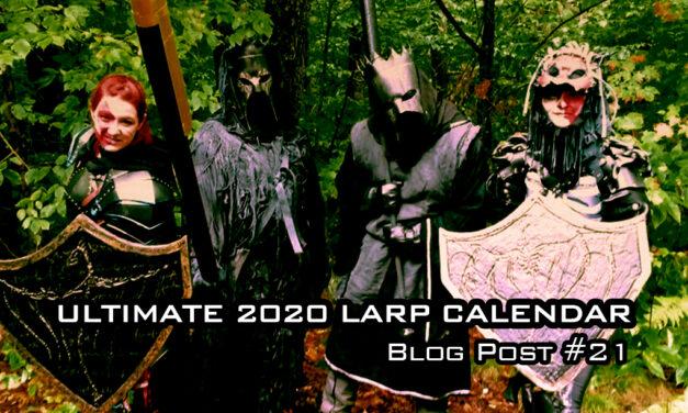 2020 Ultimate New England Sport LARP Calendar